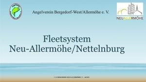 Fleetsystem Neuallermöhe, Vortrag vom Angelverein Bergedorf-West-Allermöhe