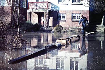Elbe Sturmflut 16.-17.2.1962, Oberer Landweg