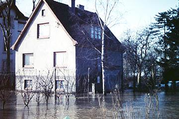 Elbe Sturmflut 16.-17.2.1962, Haus Oberer Landweg
