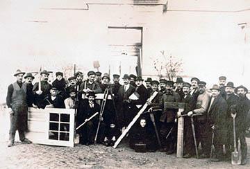 Bau der Siedlung Nettelnburg 1928-1930, Bauteam