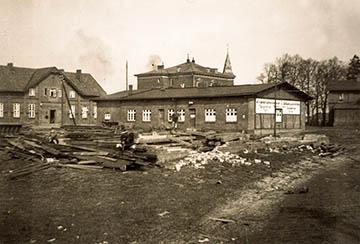 Gutshof Nettelburg, Nettelnburger Straße, ca. 1930, Haus des Geflügelzüchtervereins