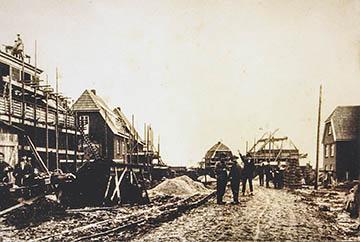Bau der Siedlung Nettelnburg 1928-1930, Randersweide