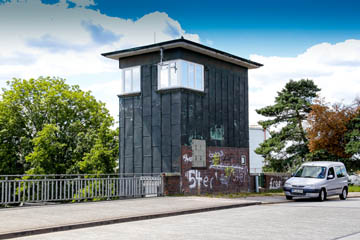 Krapphofschleuse am Schleusengraben, Schleusenwärterhaus, Foto: Wasserverband Nettelnburg