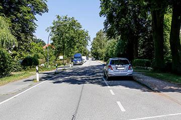 Nettelnburg Straße Oberer Landweg 69 nach Nord