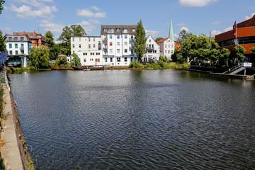 Serrahn in Bergedorf, See, gespeist von der Oberen Bille und Ausfluss in den Sdhleusengraben, Foto: Wasserverband Nettelnburg